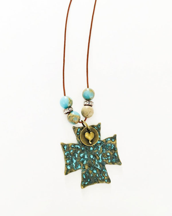 Cross Boho Necklace