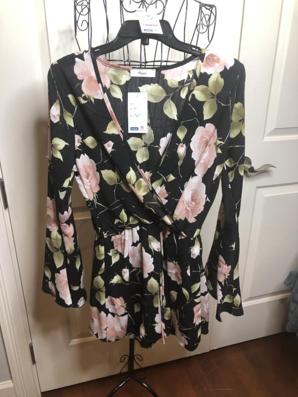Awoo Floral Romper