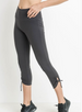 Charcoal Capri Leggings