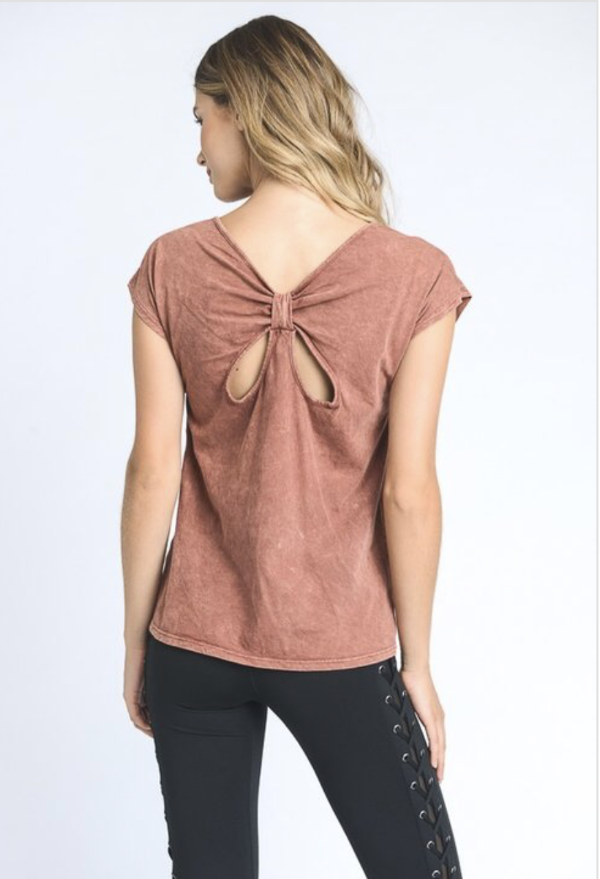Rust Butterfly Top