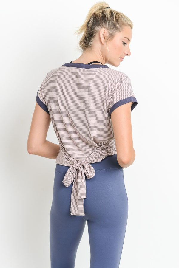 Super Soft Tie Top