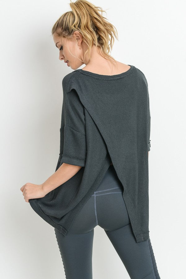 Overlay Tunic Top