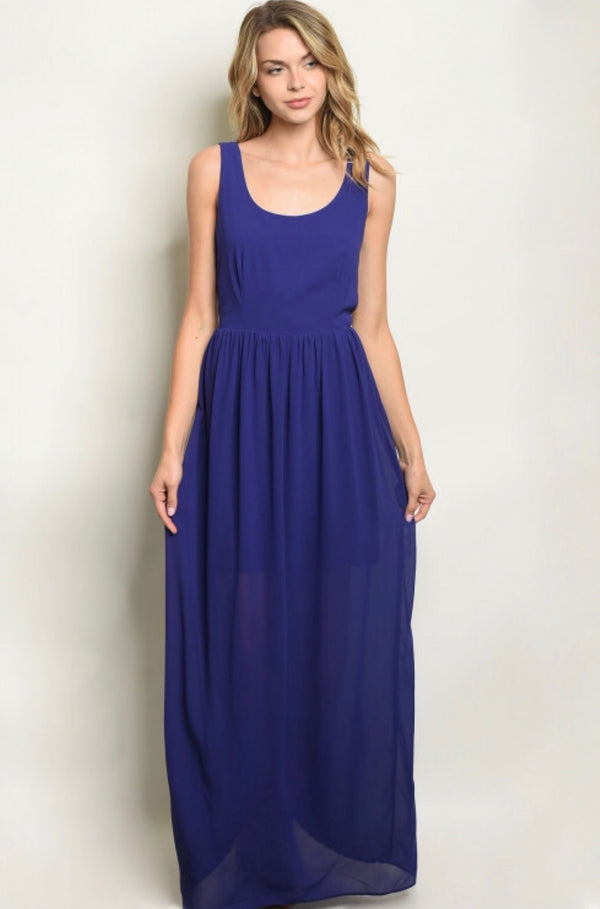 Sugar Plum Maxi Dress