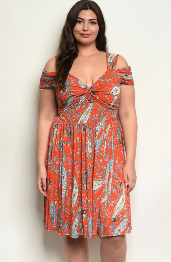 Cacey Paisley Dress