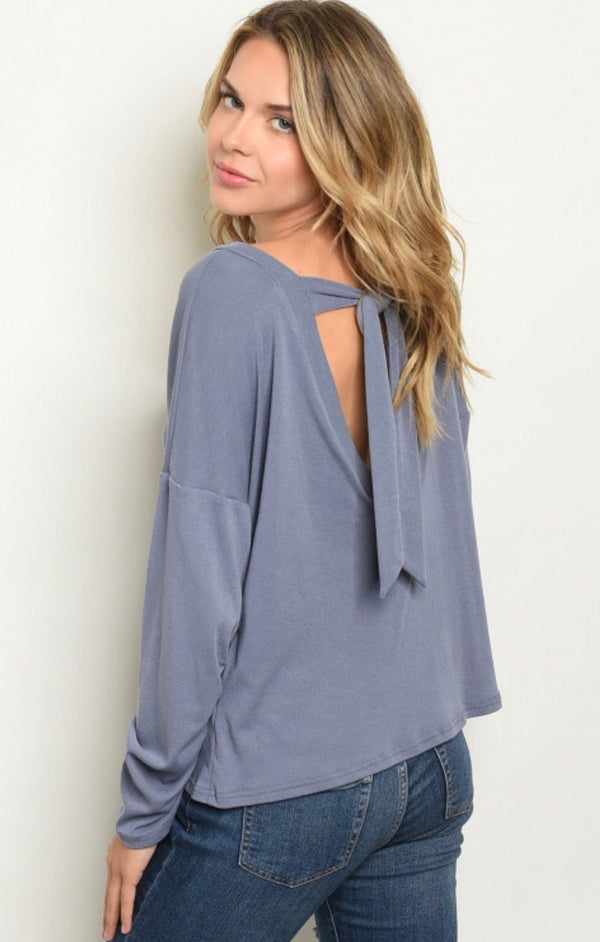 Blake Tie Back Top