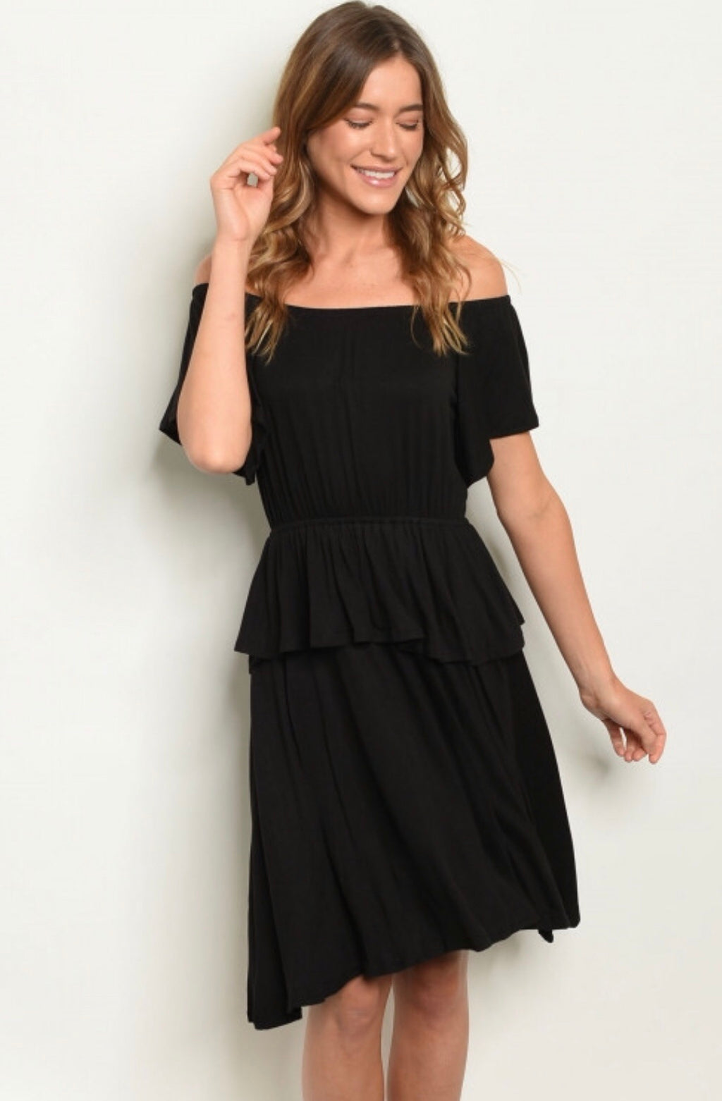 Simply Chic Tiered Dress
