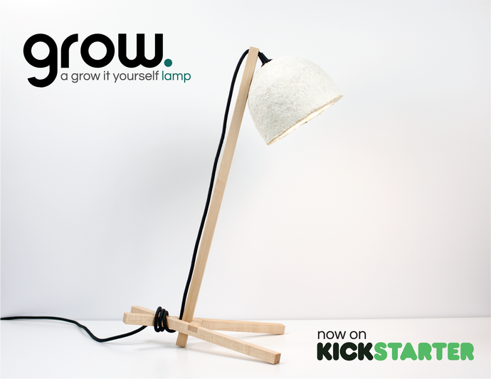 GROW Lamp Successfully Funded on Kickstarter