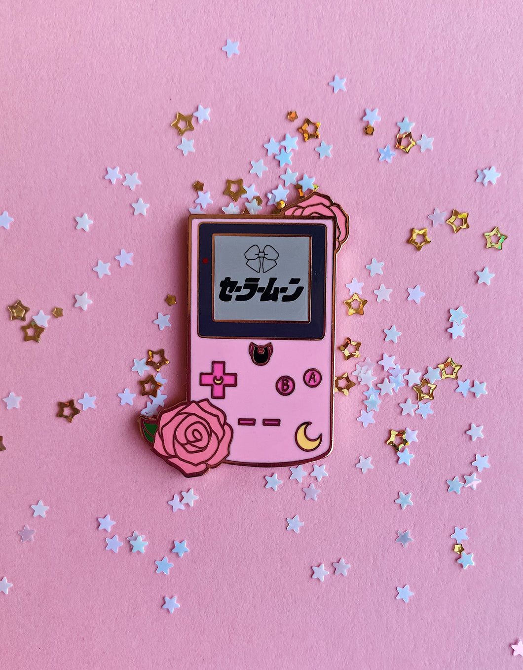 Sailor Moon Gameboy Pin (backordered)