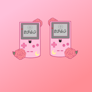 Sailor Moon Gameboy Acrylic Charm