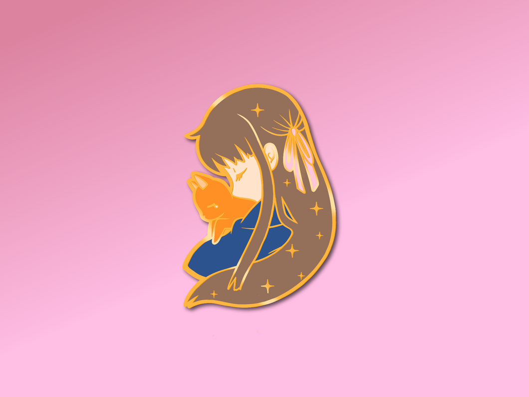 Tohru and Cat Pin *preorder*