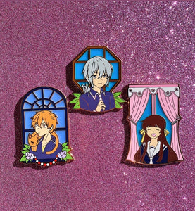 Stained Glass Furuba Pins