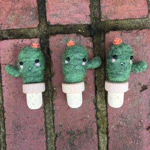 Cutest Cacti Bottle Stoppers