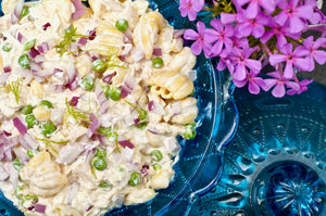 Let's-get-old-school-for-a-minute Tuna and Zucca Pasta Salad
