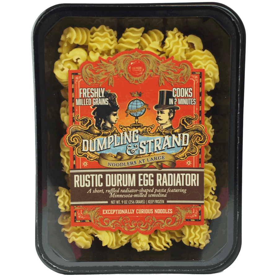 Rustic Durum Egg Radiatori