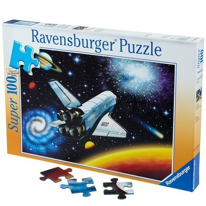Ravensburger Outer Space Puzzle (100 pc) by Ravensburger