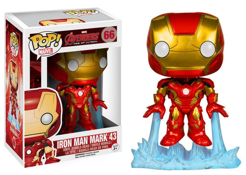 Funko Marvel: Avengers 2 - Iron Man Bobble Head Action Figure