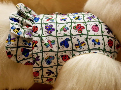 Springtime Dog Harness with Ruffle