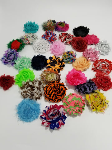 Pretty Flowers for Dogs Hair Accessories - Set of 2