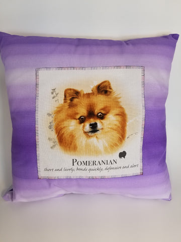 Choose Your Dog Breed on a Throw Pillow