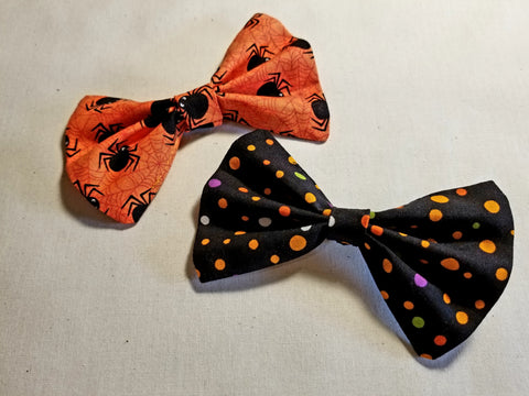 Halloween Bow Ties Set of 2