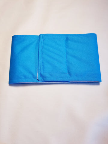 Aqua Blue Washable Reusable Belly Band for Dogs