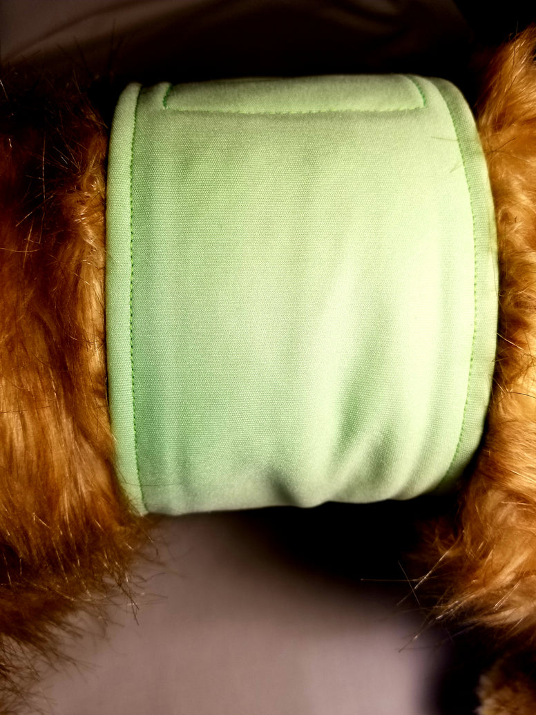 Pistachio / Lime Green Washable Reusable Belly Band for Dogs
