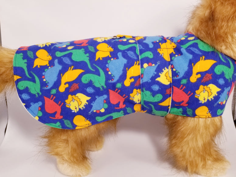 Dinosaur Handmade Dog Coat