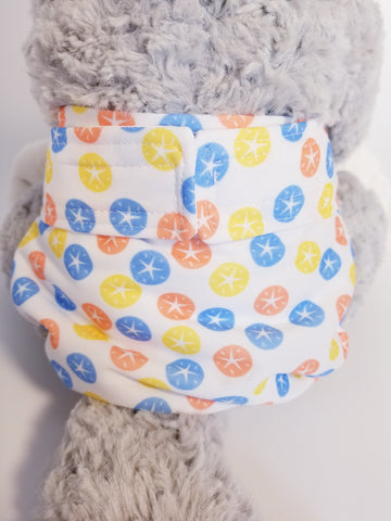 Bold Sand Dollar Washable Reusable Dog Diaper