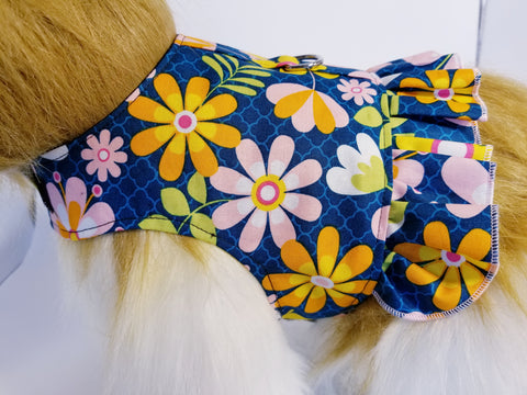 Daisy Mae Dog Harness with Ruffle