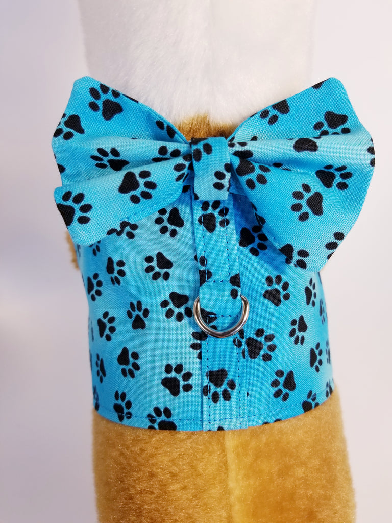 a1caa721e13b Aqua Paws Dog Harness with Bow Tie – The Purple Pomeranian
