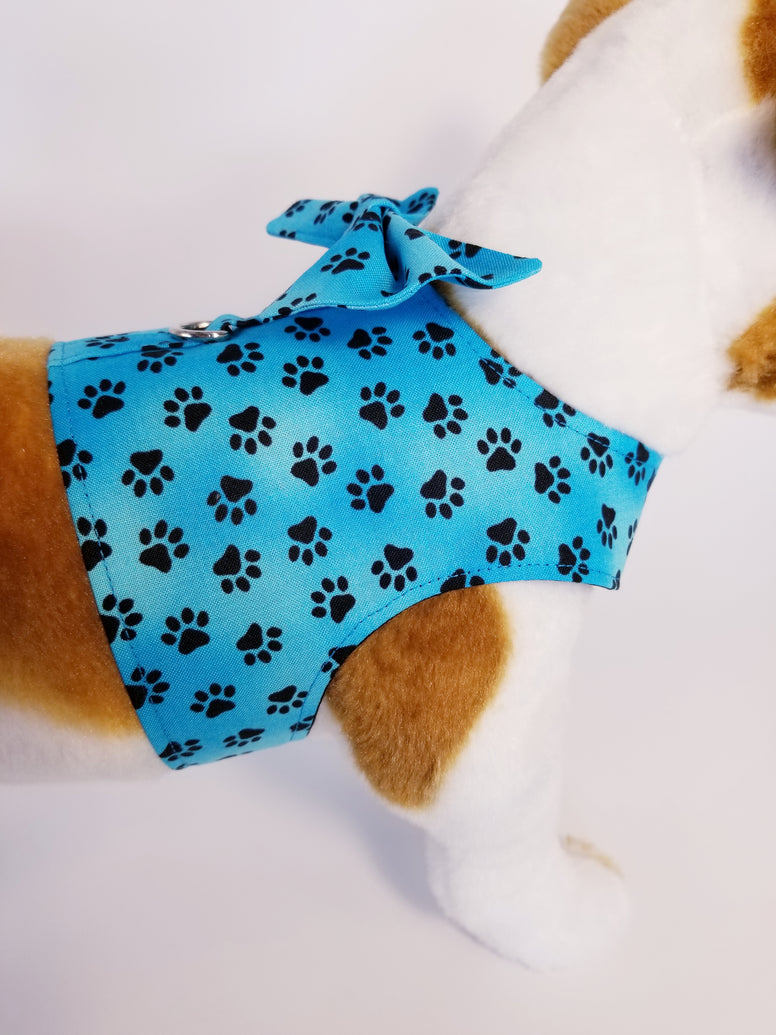 Aqua Paws Dog Harness with Bow Tie