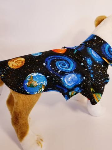 Outer Space Dress Shirt for Dogs