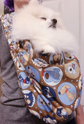 Funny Dogs Reversible Sling Carrier