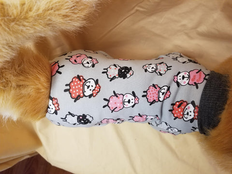 Sleepy Sheep Dog or Cat Pajamas