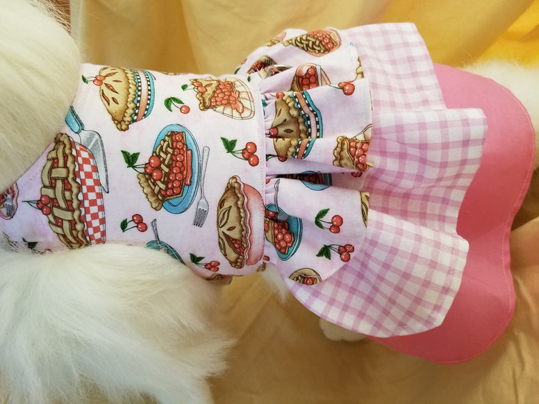 Oh My It's Cherry Pie Dog Dress