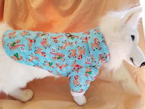 Rudolph the Red-Nosed Reindeer Dress Shirt for Dogs