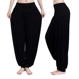 Plus Size Colorful Bloomers Dance Yoga Tai Chi Pants