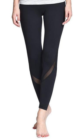 Fitness Tight Mesh Yoga Leggings