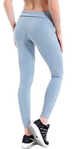 Women Yoga High Waist Broadcloth Leggings