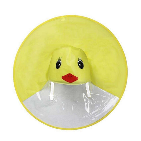 Duck Kid Poncho