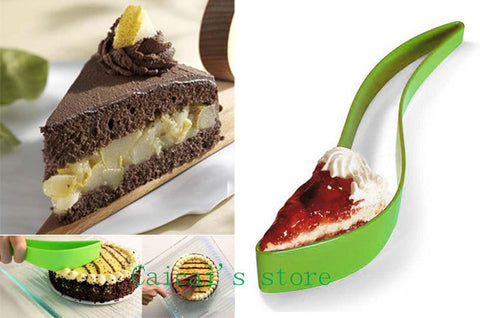 Eco-friendly Plastic Cake and Pie Slicer Server