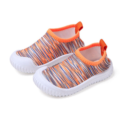 Kids Elastic Cloth Shoes Boys And Girls non-slip toddler shoes
