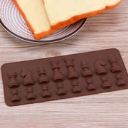 Chess Shaped ♟ Ice & Chocolate Silicone Mold