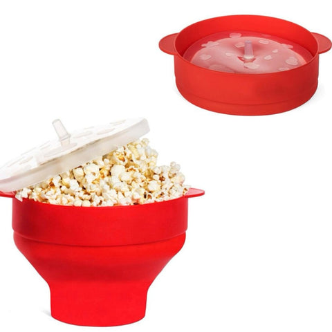 Silicone Microwave Popcorn Popper