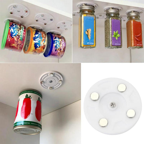 Magnetic Canned Food Hangers