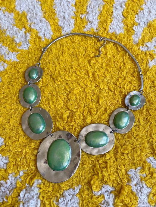 Hazy Dayz Green River Necklace