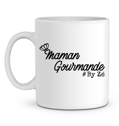 Mug En Céramique Maman Gourmande Zé Connect Shirt France