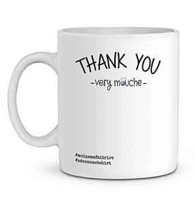 Mug En Céramique Thank You Very Mouche Zé Connect Shirt France