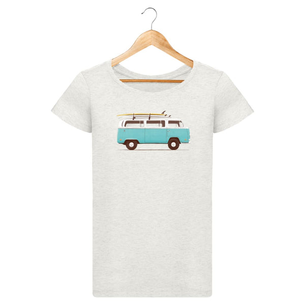 T-Shirt Femme Blue Van By Florent Bodart Zé Connect Shirt France