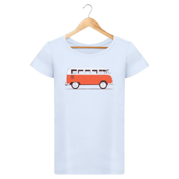 T-Shirt Femme Red Van By Florent Bodart Zé Connect Shirt France